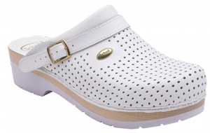 CLOG S/COMF.B/S CE BYCAST BIS UNISEX WHITE WOODS BIANCO 44 - Farmawing