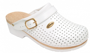 CLOG S/COMF.B/S CE BYCAST UNISEX WHITE WOODS BIANCO 38 - Farmastar.it