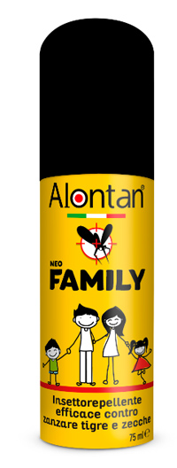 ALONTAN NEO FAMILY SPRAY 75 ML ICARIDINA 10% - Farmajoy