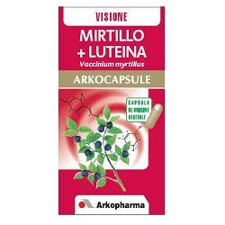 Arkocapsule Mirtillo + Luteina Integratore Vista 45 Capsule - latuafarmaciaonline.it
