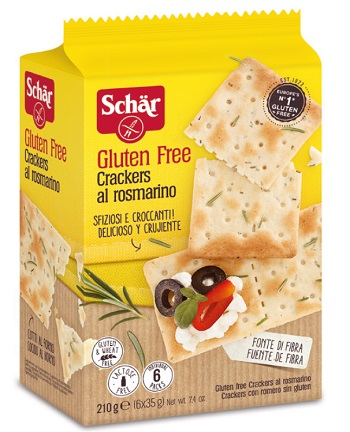 SCHAR CRACKERS ROSMARINO 210 G - Farmaunclick.it