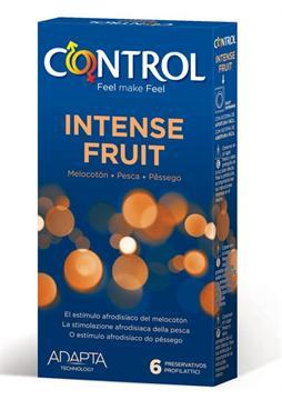 PROFILATTICO CONTROL INTENSE FRUIT 6 PEZZI - Farmaseller