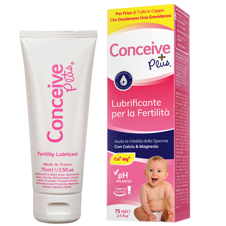 CONCEIVE PLUS LUBRIFICANTE VAGINALE COADIUVANTE FERTILITA' TUBO 75ML - Farmastop