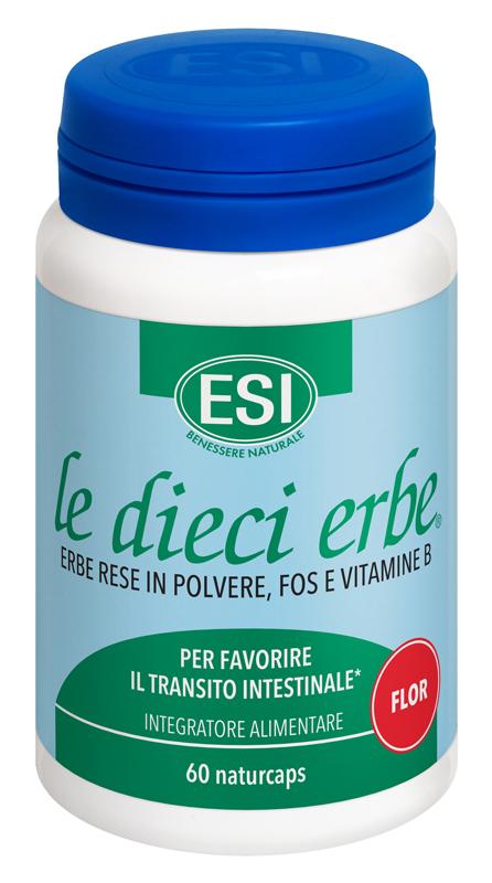 ESI LE DIECI ERBE FLOR 60 CAPSULE - Speedyfarma.it