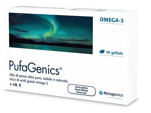 Pufagenics Complemento Alimentare Ricco di Omega3 Metagenics 30 gellule - Farmastar.it