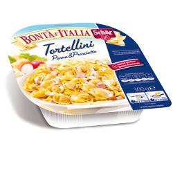 SCHAR SURGELATI TORTELLINI PANNA & PROSCIUTTO BONTA' D'ITALIA 300 G - Carafarmacia.it