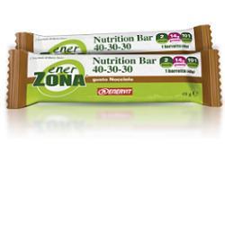 Enervit EnerZona Nutrition Bar 40-30-30 Gusto Nocciola Barretta 48g - Farmabros.it