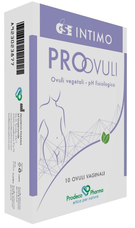 GSE INTIMO PRO-OVULI 10 OVULI - Farmafamily.it