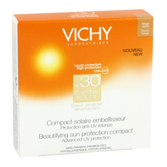 VICHY CAPITAL SOLEIL COMPACT FONCE 30 10 G - Carafarmacia.it