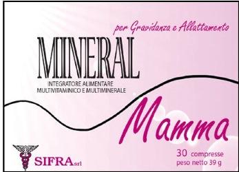 Mineral Mamma Integratore Vitamine e Minerali 30 Compresse