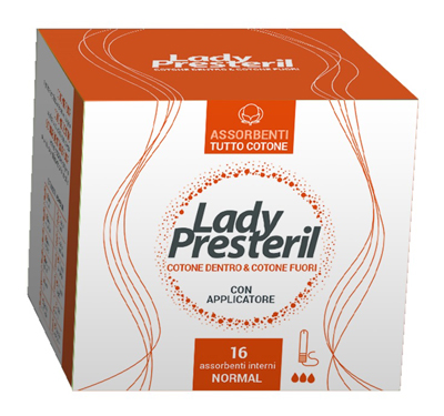 LADY PRESTERIL ASSORBENTI INTERNI NORMAL 16 PEZZI - Farmaci.me