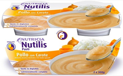 NUTILIS PASTI POLLO CON CAROTE 2 X 300 G - Farmapage.it