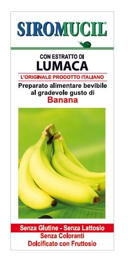 Siromucil Preparato Alimentare con Estratto di Lumaca alla Banana 150ml - Arcafarma.it