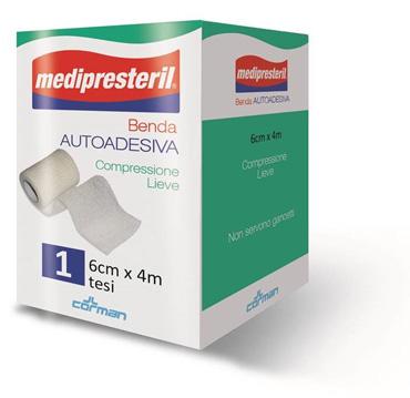 BENDA ADESIVA MEDIPRESTERIL 6X400CM - Farmacia Centrale Dr. Monteleone Adriano