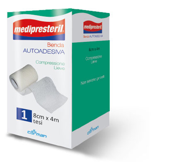 BENDA ADESIVA MEDIPRESTERIL 8X400 CM - Farmaconvenienza.it
