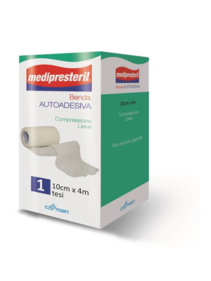 BENDA ADESIVA MEDIPRESTERIL 10X400CM - Farmaseller