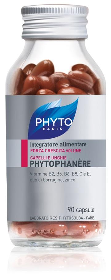 PHYTO PHYTOPHANERE INTEGRATORE ALIMENTARE CAPELLI/UNGHIE 90 CAPSULE NUOVA FORMULA ALLO ZINCO - farmaciafalquigolfoparadiso.it