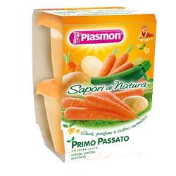 Plasmon Primo Passato Sapori Di Natura Carote Patate Zucchine 2x120g - Carafarmacia.it