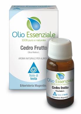 CEDRO FRUTTO OLIO ESSENZIALE ALIMENTARE 10 ML - Iltuobenessereonline.it