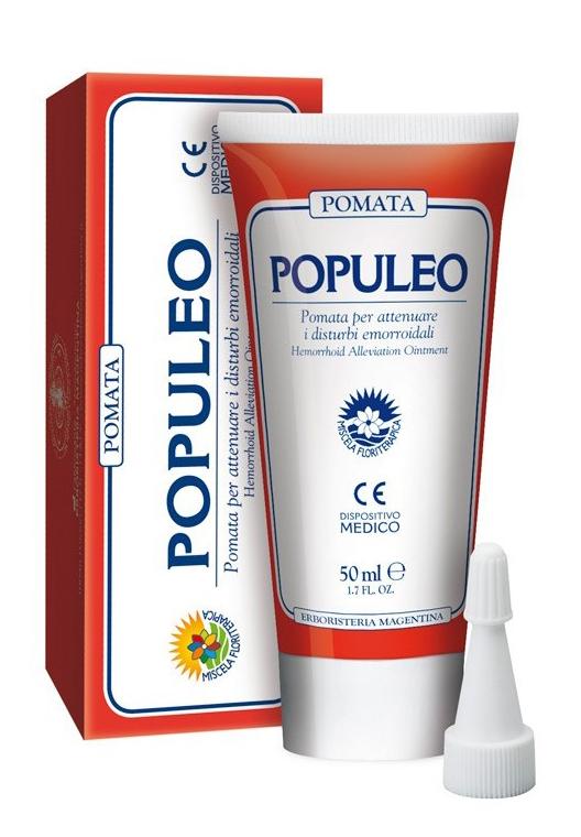 POPULEO POMATA EMORROIDI 50 ML - Farmastar.it