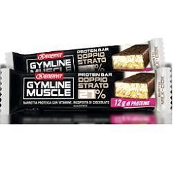 Enervit Gymline Muscle Protein Bar Doppio Strato 27% Milk-Ciok 45g - Farmacia 33