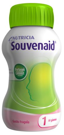 SOUVENAID FRAGOLA CLUSTER 4 X 125 ML - Farmastop