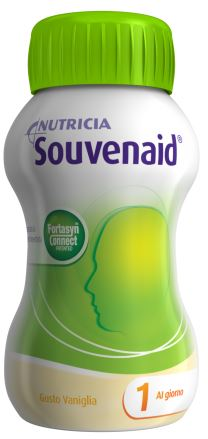 SOUVENAID VANIGLIA CLUSTER 4 X 125 ML - farmaciadeglispeziali.it