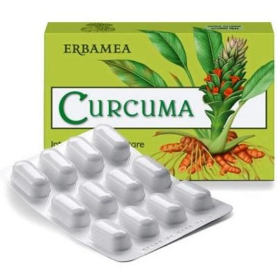CURCUMA 24 CAPSULE VEGETALI 12 G - Farmapage.it