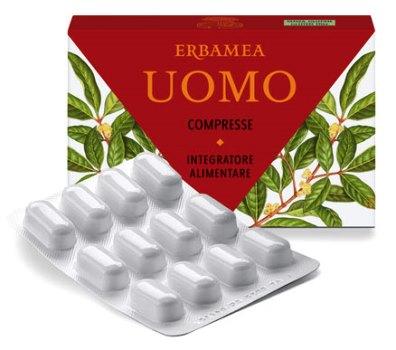 ERBAMEA UOMO 24 COMPRESSE 21,6 G - farmaciadeglispeziali.it
