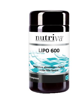NUTRIVA LIPO 600 30 COMPRESSE 900 MG - Farmacia Giotti