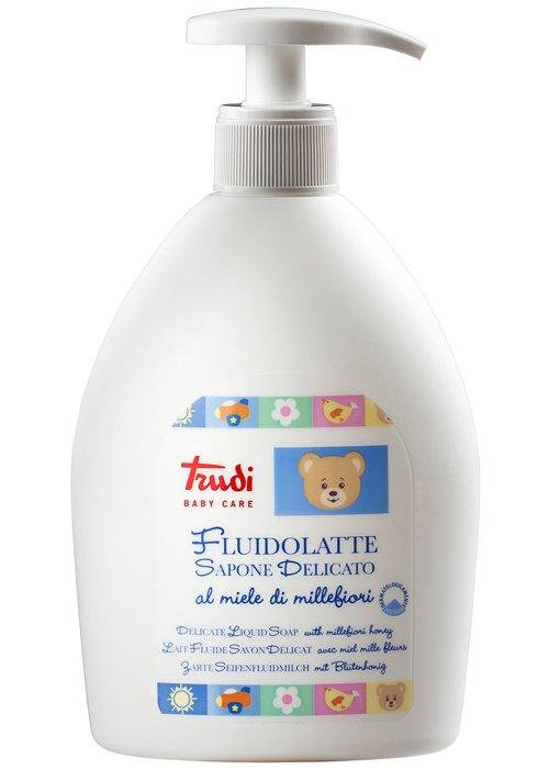 Trudi Baby Care Fluidolatte Sapone Delicato Dispenser - Carafarmacia.it
