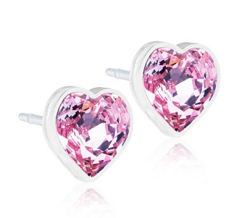 Image of BLOMDAHL GIOIELLO MP HEART 6 MM LIGHT ROSE