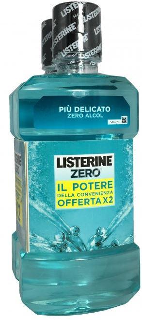 LISTERINE ZERO BUNDLE 2 X 500 ML - Carafarmacia.it