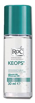 ROC KEOPS BUNDLE DEODORANTE ROLL-ON 30 ML X 2 PEZZI - Farmaunclick.it