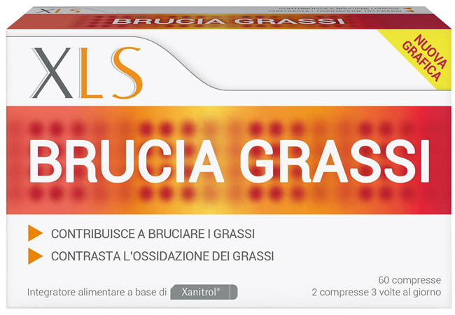 XLS BRUCIA GRASSI 60 CAPSULE - Speedyfarma.it