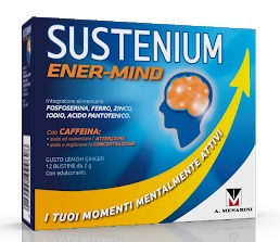 SUSTENIUM ENERGY MIND 12 BUSTINE - farmaciadeglispeziali.it