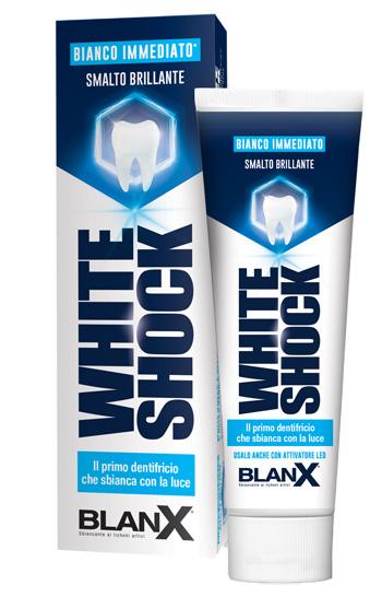 BLANX SBIANCANTE WHITE SHOCK 75ML - Farmabenni.it