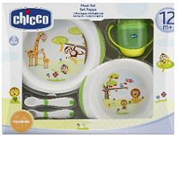 CHICCO SET PAPPA 12M+ VERDE - Farmabros.it