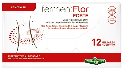 FERMENTFLOR FORTE 10 FLACONCINI 8 ML - Zfarmacia