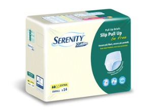 PANNOLONE A MUTANDINA SERENITY PULL UP BE FREE SD EXTRA LARGE 14 PEZZI - Farmacento