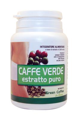 CAFFE' VERDE ESTRATTO PURO 60 CAPSULE - Farmaseller