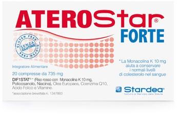 ATEROSTAR FORTE 20 COMPRESSE - Farmaciacarpediem.it