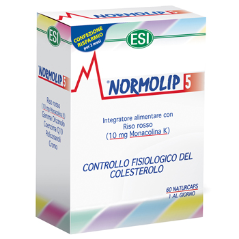 Normolip 5 60 Capsule offerta speciale - Sempredisponibile.it