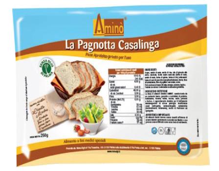 AMINO' LA PAGNOTTA CASALINGA 250 G - Farmaci.me