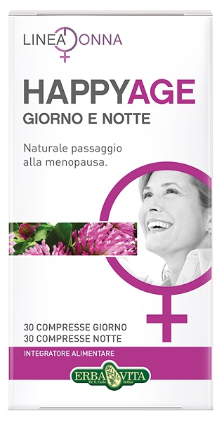 HAPPY AGE GIORNO E NOTTE 60 COMPRESSE - FarmaHub.it