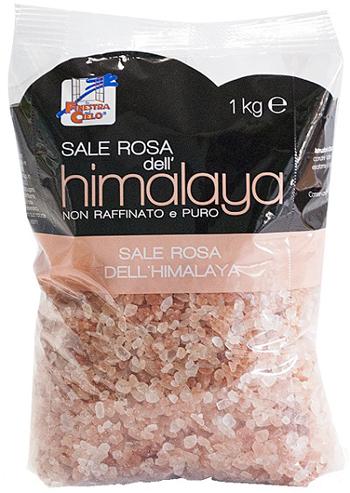 SALE ROSA DELL'HIMALAYA GROSSO 1000 G - FARMAEMPORIO