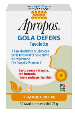 APROPOS GOLA DEFENS 30 TAVOLETTE - Farmapc.it