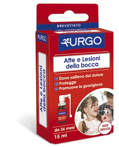 URGO SPRAY PER AFTE E LESIONI DELLA BOCCA 15 ML - Farmabros.it