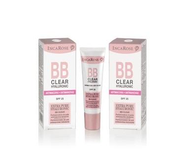 Incarose BB Clear Con Hyaluronic Trattamento Antimacchie Colore Medium 30 ml