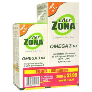 ENERZONA OMEGA 3 RX 120+48 CAPSULE  - Farmaedo.it